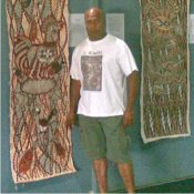 Fijian artist Nelson Salesi