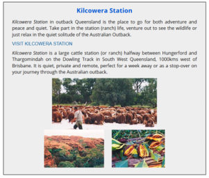 Kilcowera Station Special Feature