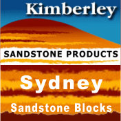 Kimberley Sandstone Sydney Blocks and Logs
